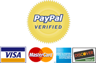 Shop safe, secure with PayPal